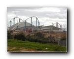 Olympic stadium construction, January 2004